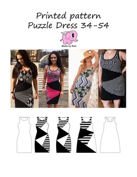 Puzzel dress Made by Runi 42