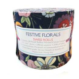 Jelly Rolls - Festive Florals