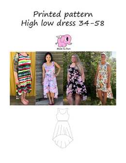 44 High Low Dress woman size 34-58