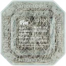 PRYM - Knappnål 30 x ,0,50 mm No. 6 SF / 50 g.