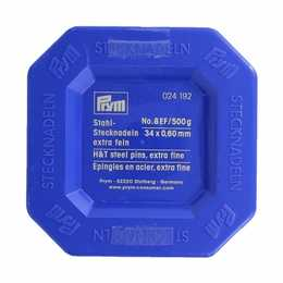 PRYM - Knappnål No.8 EF/ 500g 34 x 0,60 mm