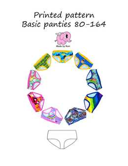 20. Basic panties child 80-164