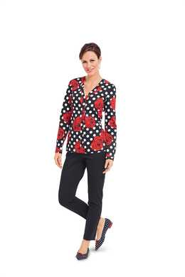 6368. Burda - WOMEN'S TOPS
