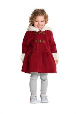 9329. Burda - TODDLER'S COAT