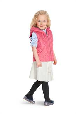 9333. Burda - CHILD'S FUR VEST