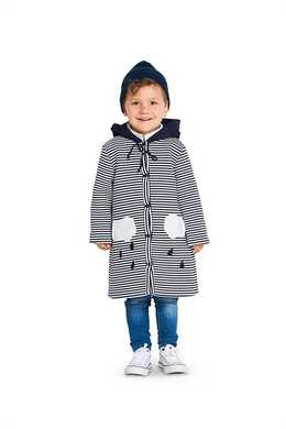 9334. Burda - CHILD'S HODDED JACKET