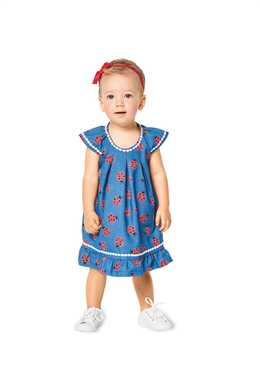 9338. Burda - TODDLER'S BLOUSE AND DRESS