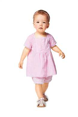 9339. Burda - TODDLER'S DRESS AND PANTIES