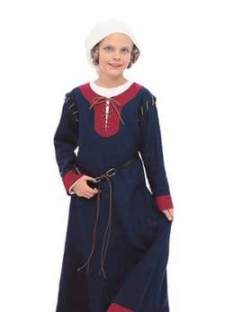 9473. Burda -  CHILDRENS HISTORIC GOWNS