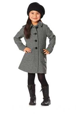 9501. Burda - TODDLRES & CHILDRENS COAT & JACKET