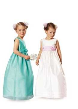 9757. Burda - TODDLERS & CHILDRENS DRESS