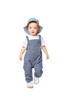 9337. Burda - BABY'S BIDDED TROUSERS