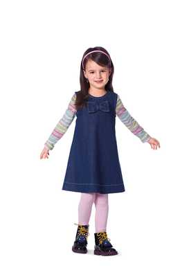 9447. Burda - TODDLERS & GIRLS DRESS