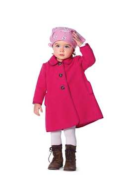 9456. Burda - BABY & TODDLERS COAT & JACKET