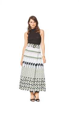 6430. Burda Dam - WOMEN'S PLEATED SKIRTS