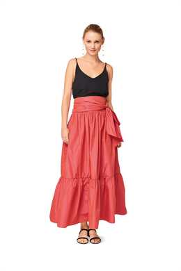 6514. Burda Dam - WOMEN'S' TIERED SKIRT
