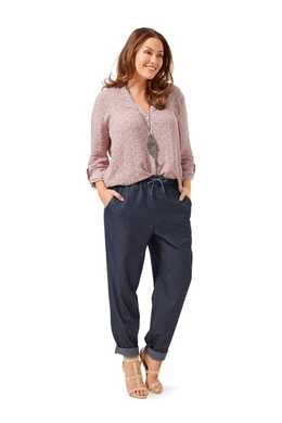 6678. Burda Dam - TROUSERS PLUS SIZES