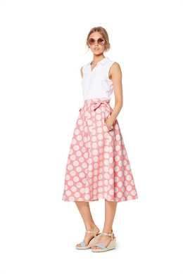 6319. Burda Dam - BURDA STYLE PATTERN MISSES' BELL SHAPED SKIRT