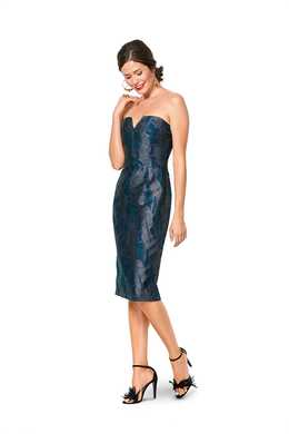 6346. Burda Dam - BURDA STYLE PATTERN 6346 MISSES' SPECIAL OCCASION DRESS