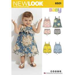 New Look 6501 - Klännning - Baby