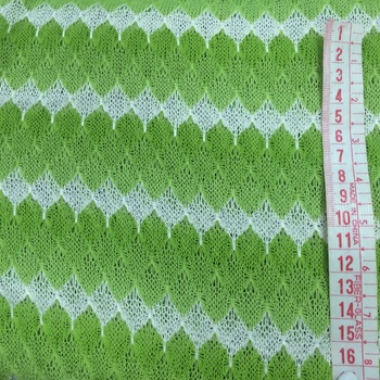 Checker Jersey Lime