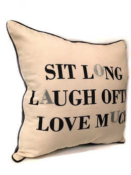 Pillow text
