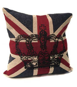 England Crown Pillow