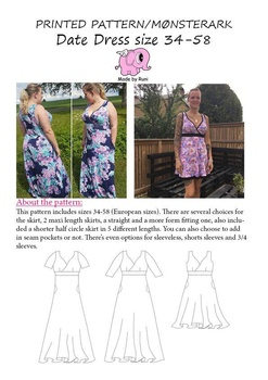 Date Dress 34-58 Made by Runi